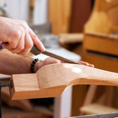 Nahaufnahme Design Holz
